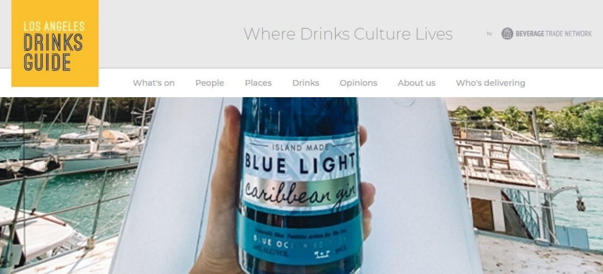 Photo for: Bluelight Gin - from the Worlds Most Tropical Distillery