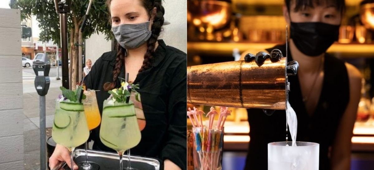 Photo for: Bartenders talk about how their role has changed in Covid