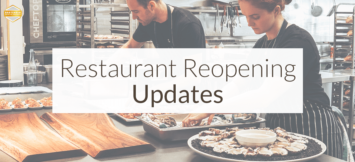 Photo for: State Updates On Reopening Restaurants Post COVID-19