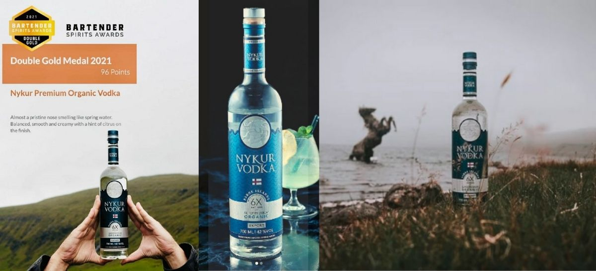Photo for: Vodka from Faroe Islands wins Double Gold Medal
