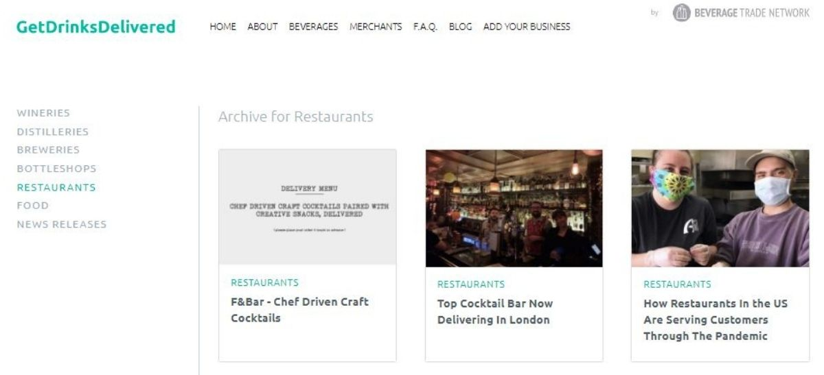 Photo for: How Can Bars Promote Their Online Delivery Business During Covid-19