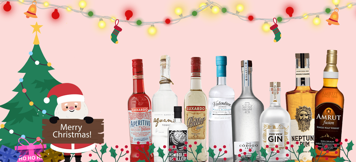 Photo for: 9 Must Have Spirits For Christmas