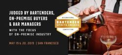 Photo for: Bartender Spirits Awards 2019 Submissions Now Open